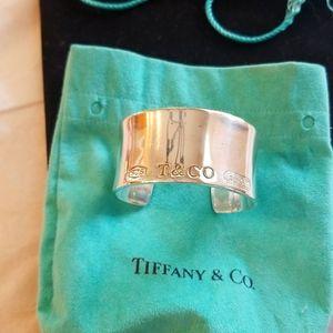 Authentic Thick Tiffany Bracelet
